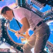 在宇宙演奏薩克斯風的法國太空人 Thomas Pesquet
